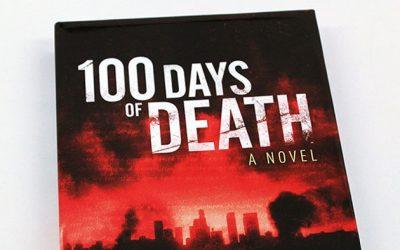 100 Days of Death Hardcover on Amazon!