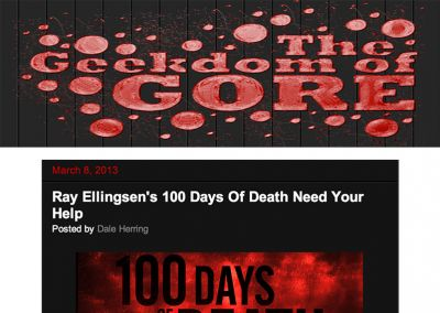 The Geekdom of Gore: 100 Days of Death Campaign
