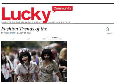 Lucky: Ray Ellingsen on Zombie Culture