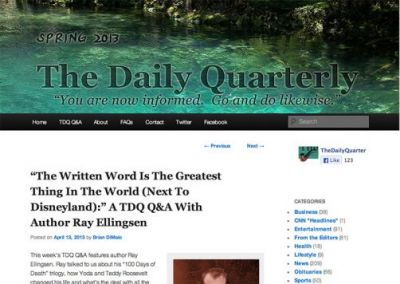 The Daily Quarterly: The Written Word is the Greatest Thing in the World
