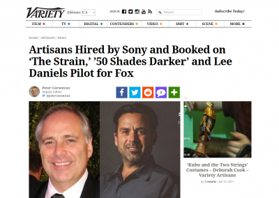 Variety: Michael Minkler Joins Sony Pictures Post Production Services