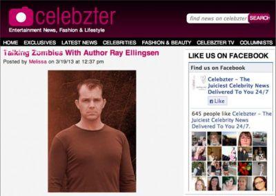 Celebzter: Talking Zombies With Ray Ellingsen