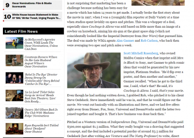 """Deadline: Can """"Cowboys & Aliens"""" Lasso Youth?"""
